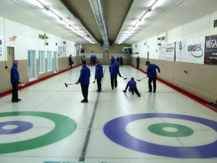 Curling au Club de Golf et Curling de Thetford